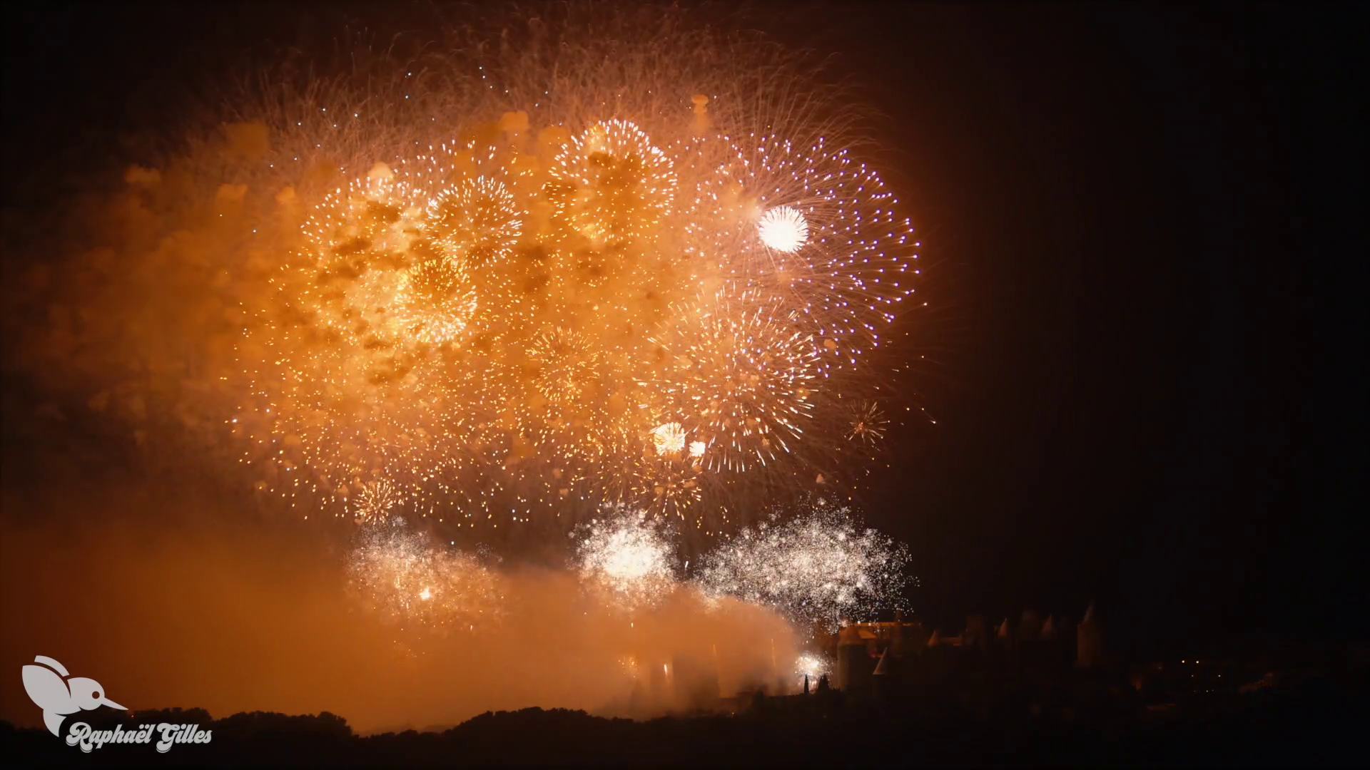 Feu d'artifice de Carcassonne 2018 (Bouquet Final)