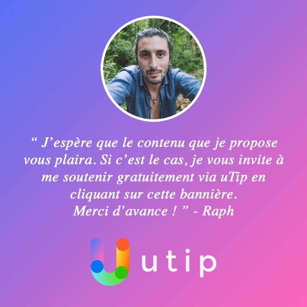 Profil uTip de Raph